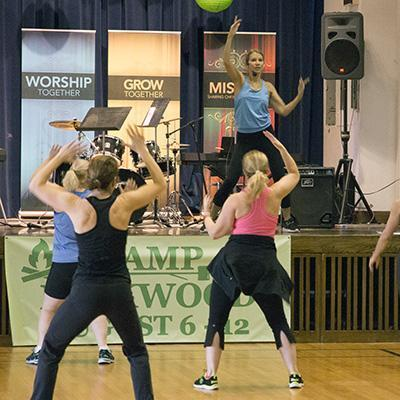 Bryn Mawr Presbyterian Church offers fitness classes and fellowship opportunities