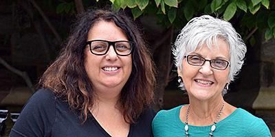 Parish Nurse Carol Cherry and Social Worker Renee Malnak-Giansiracusa are part of the Caring Ministries team at Bryn Mawr Presbyterian Church
