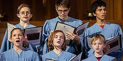 Youth chorale sing at special worship services at Bryn Mawr Presbyterian Church