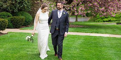 Wedding at Bryn Mawr Presbyterian Church