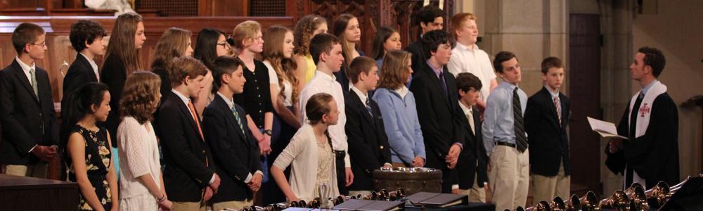 For Youth  Families Confirmation header