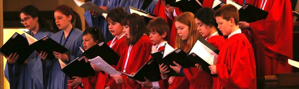 children  youth choirs header